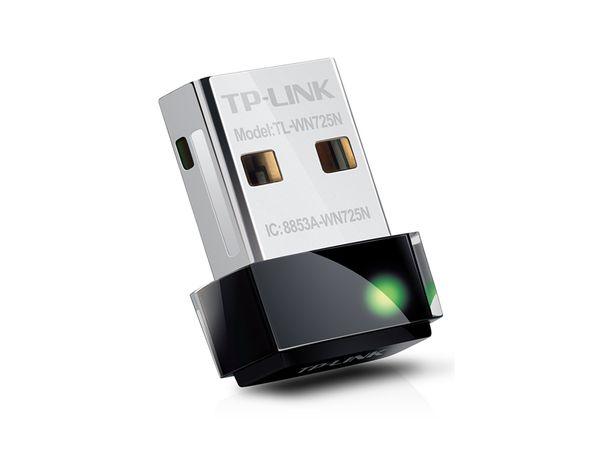 Nano WLAN USB-Stick TP-LINK TL-WN725N, 150 Mbps - Produktbild 1
