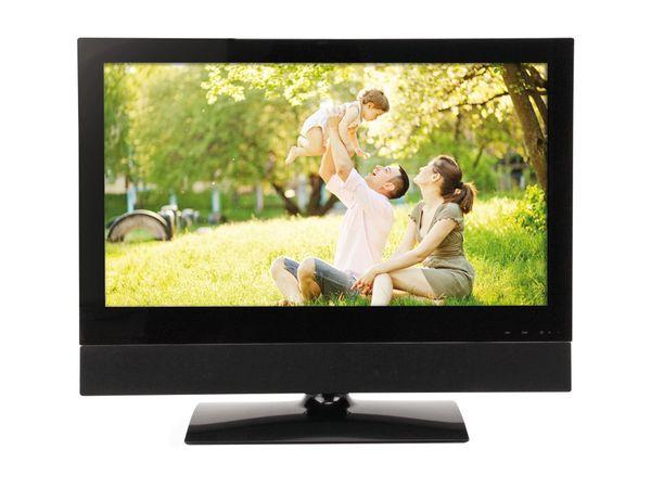 59,9 cm FullHD LCD-Bildschirm/-Fernseher mit Soundbar, schwarz