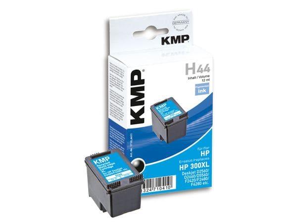 Tintenpatrone KMP, kompatibel für HP 300XL (CC641EE), schwarz