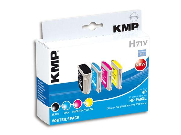 Tintenpatronen-Set KMP, kompatibel für HP 940XL