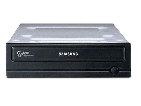 SATA DVD-Brenner SAMSUNG SH-224DB/RSMS, bulk, Wechselblenden