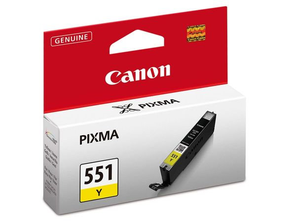 Tintenpatrone CANON CLI-551Y