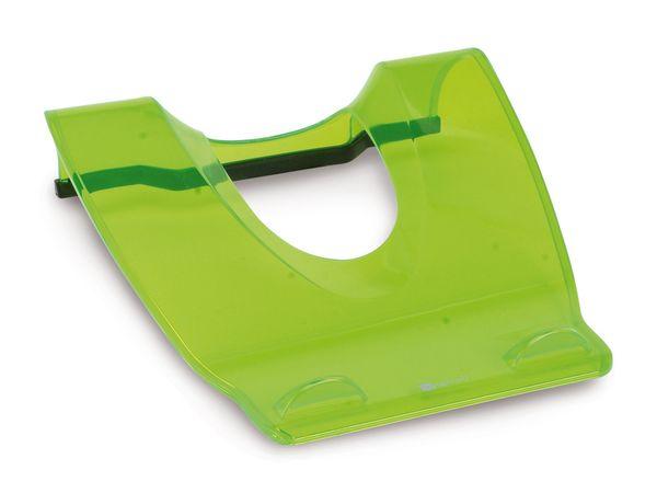 Notebook-Ständer ZIGNUM COO-ZGLP-SN1.GR, grün/transparent - Produktbild 1