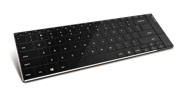 Bluetooth-Tastatur TYPHOON TI013, BlackPhysics - Produktbild 1