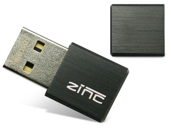 USB 2.0 Speicherstick CNMEMORY ZINC, 16 GB, schwarz