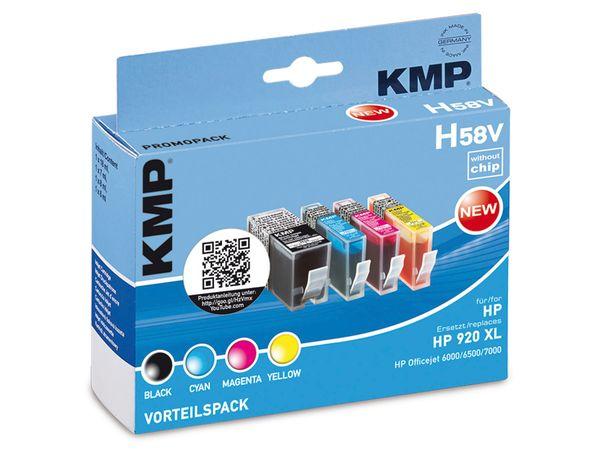 Tinten-Vorteils-Set KMP, kompatibel zu HP