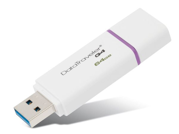 USB-Speicherstick KINGSTON DataTraveler DTI-G4, 64GB