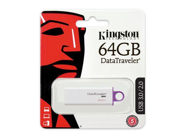 USB-Speicherstick KINGSTON DataTraveler DTI-G4, 64GB - Produktbild 2