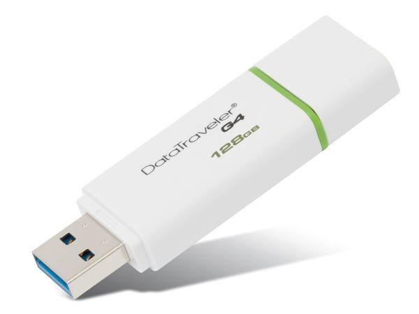 USB-Speicherstick KINGSTON DataTraveler DTI-G4, 128GB - Produktbild 1