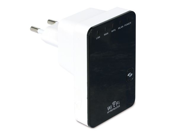 WLAN Mini-Router DAYCOM RTR-300M, 300 Mbps, Multifunktion - Produktbild 1