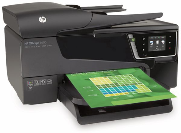 Multifunktionsdrucker WLAN HP Officejet 6600 - Produktbild 1