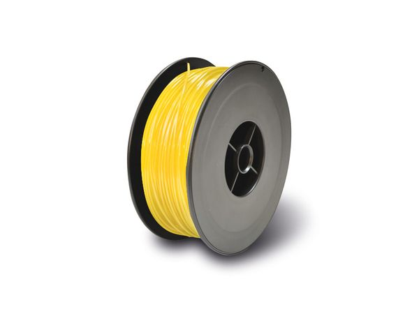 3D-Drucker PLA Filament RepRap, 100 m, gelb