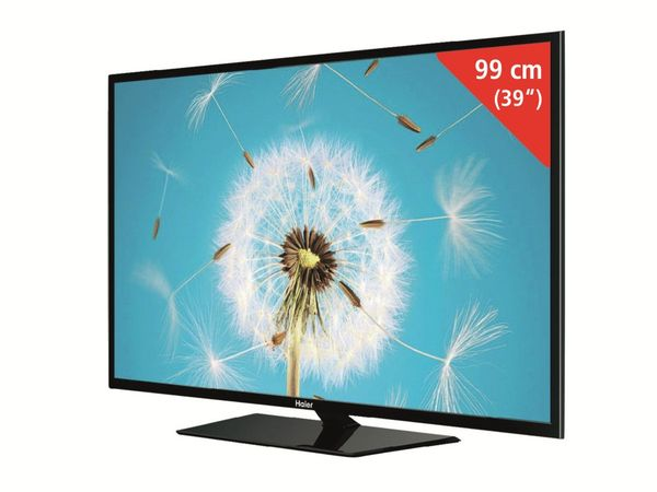 "39"" (99 cm ) LED-Fernseher HAIER LE39M600SF, FullHD, Triple-Tuner - Produktbild 1"