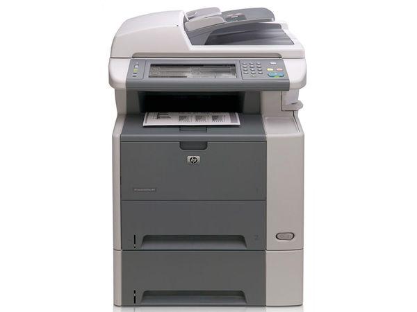 Drucker HP LaserJet M3035XS, refurbished, Toner mind. 50 %