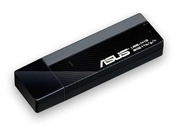 Wireless LAN USB-Stick ASUS USB-N13, 300 Mbps - Produktbild 2