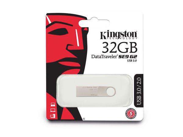 USB 3.0 Speicherstick KINGSTON DataTraveler SE9 G2, 32GB - Produktbild 3