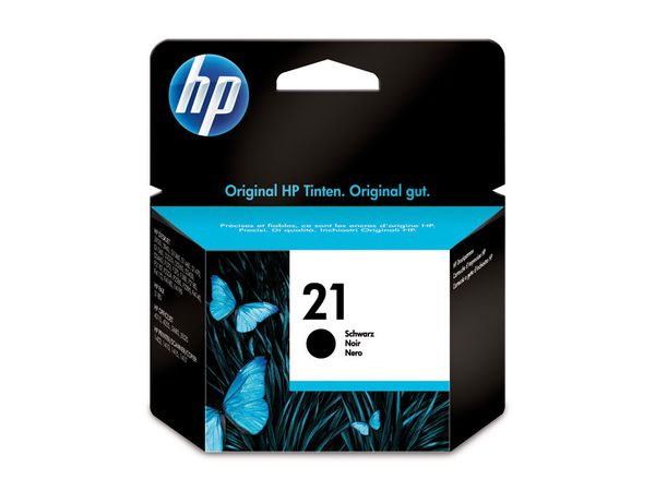 Tintenpatrone HP 21 (C9351AE), schwarz