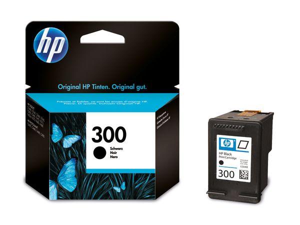 Tintenpatrone HP 300 (CC640EE), schwarz