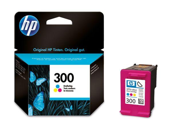 Tintenpatrone HP 300 (CC643EE), farbig