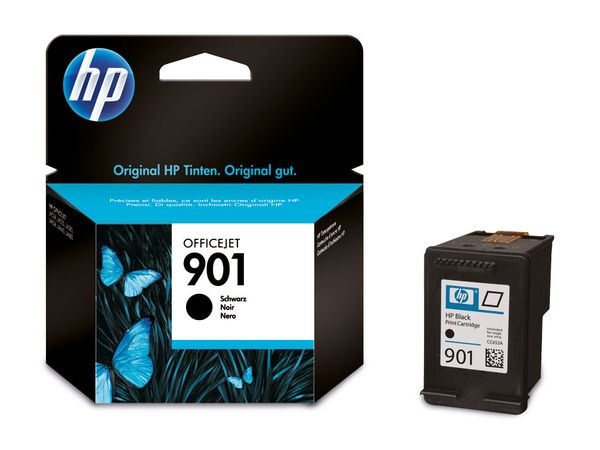 Tintenpatrone HP 901 (CC653AE), schwarz