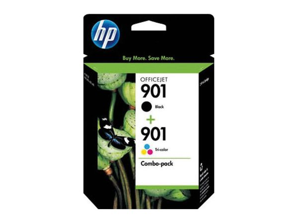 Tinten-Set HP 901 + 901XL (SD519AE), schwarz