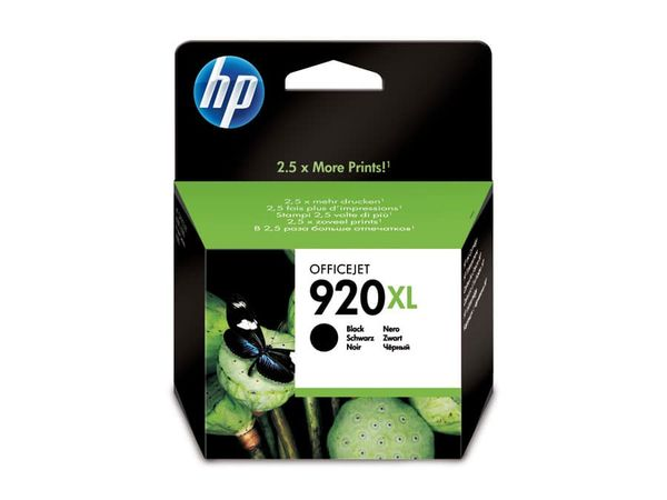 Tintenpatrone HP 920XL (CD975AE), schwarz
