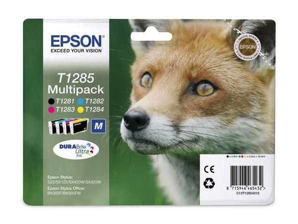 Tinten-Set EPSON T12854010, schwarz + farbig