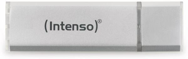 USB 2.0 Speicherstick INTENSO Alu Line, silber, 4 GB - Produktbild 1