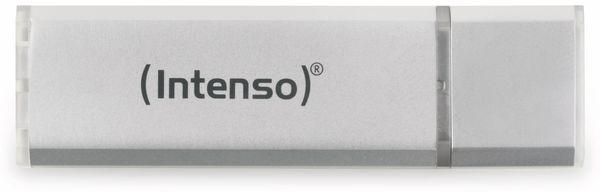 USB 2.0 Speicherstick INTENSO Alu Line, silber, 16 GB - Produktbild 1
