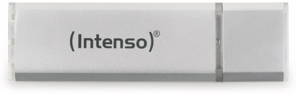 USB 2.0 Speicherstick INTENSO Alu Line, silber, 64 GB