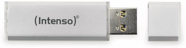 USB 2.0 Speicherstick INTENSO Alu Line, silber, 64 GB - Produktbild 3