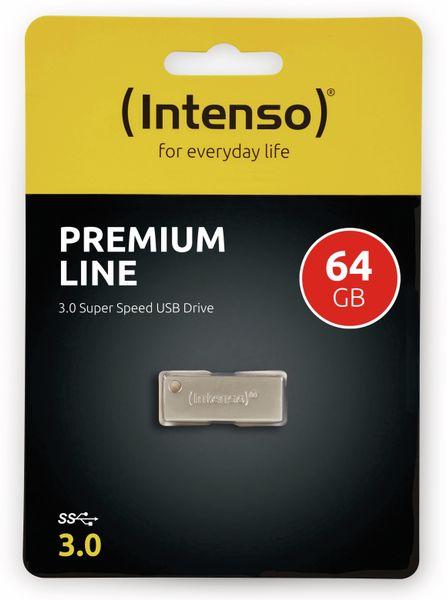 USB 3.0 Speicherstick INTENSO Premium Line, 64 GB - Produktbild 2
