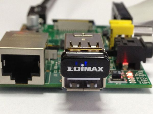 Ultra-Nano WLAN-Stick EDIMAX EW-7811Un, 150 Mbps, für Raspberry Pi - Produktbild 3