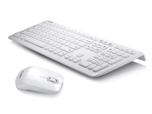 Kabelloses Tastatur/Maus-Set ASUS 3000, weiß - Produktbild 1