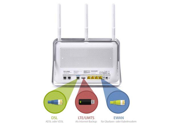 WLAN DSL-Router mit Telefonanlage TP-LINK Archer VR200v - Produktbild 8