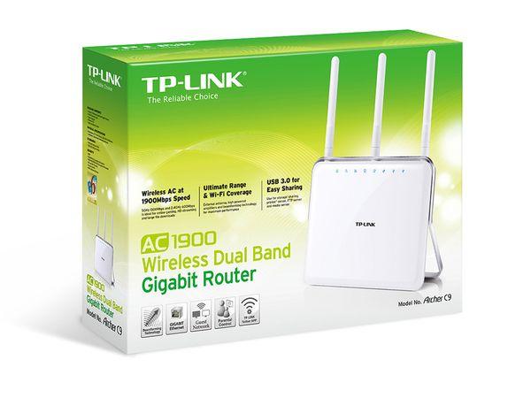 Dualband WLAN-Router TP-LINK Archer C9, AC1900 - Produktbild 4