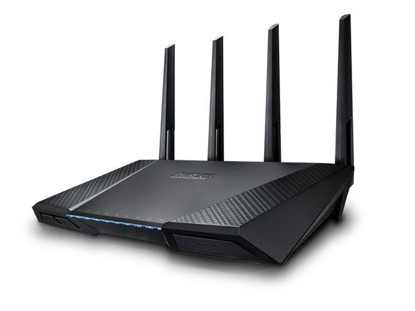 Dualband-WLAN-Router ASUS RT-AC87U - Produktbild 1