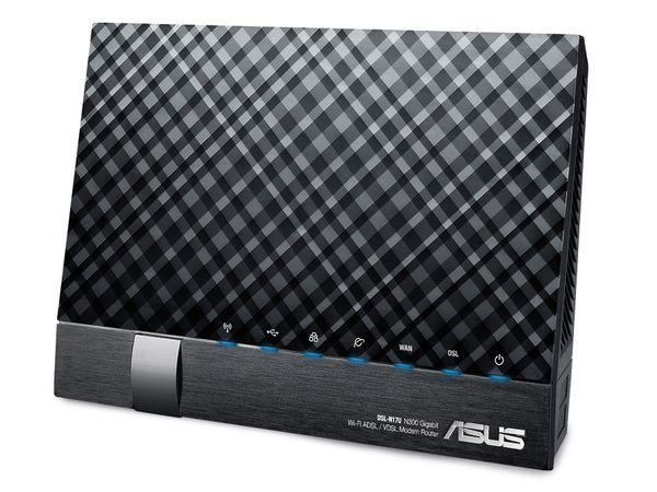 WLAN DSL-Router ASUS DSL-N17U, ADSL2+/VDSL2 - Produktbild 1