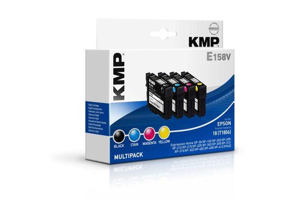 Tintenpatronen-Set KMP, kompatibel für Epson 18 (T1806),