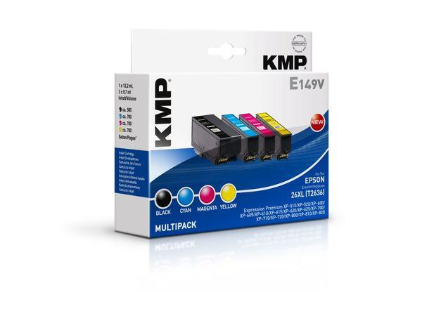Tintenpatronen-Set KMP, kompatibel für Epson 26XL (T2636)
