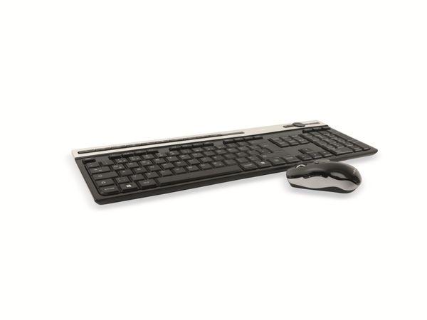Kabelloses Tastatur/Maus-Set RED4POWER R4-T009B - Produktbild 7