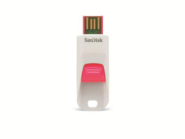USB 2.0 Speicherstick SanDisk Cruzer Edge, 8GB, pink