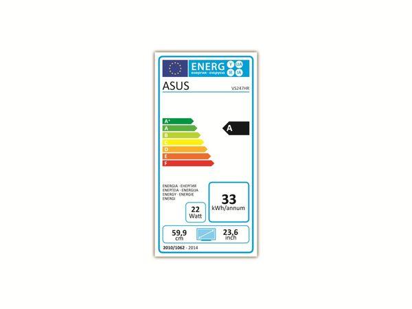 "59,94 cm (23,6"") LED-TFT-Bildschirm ASUS VS247HR, EEK: A, HDMI, DVI, VGA - Produktbild 4"