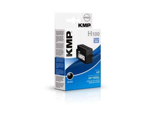 Tintenpatrone KMP, kompatibel für HP 950XL (CN045AE), schwarz