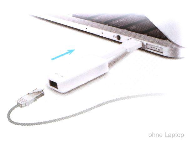 USB3.0 Gigabit-Netzwerkadapter TP-LINK UE300 - Produktbild 4