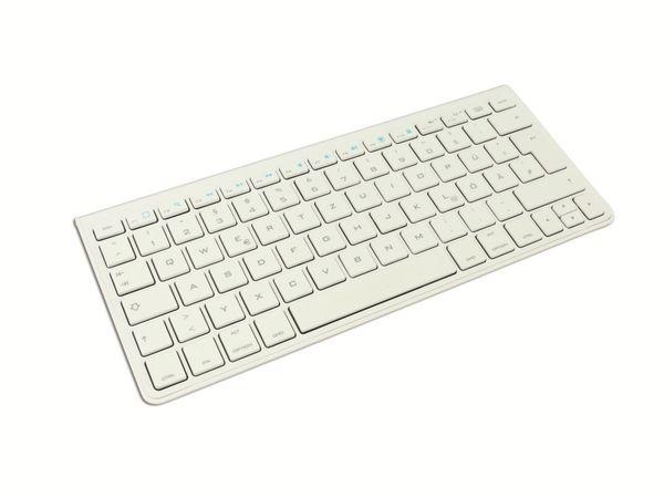 Bluetooth-Tastatur HAMA 00106347, weiß - Produktbild 1