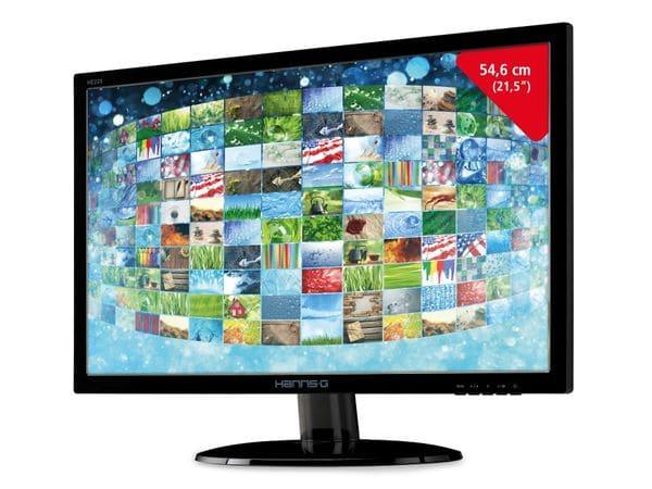 """54,6 cm (21,5"""") LED-TFT-Bildschirm HANNSPREE HE225ANB - Produktbild 1"""