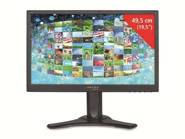 """49,53 cm (19,5"""") LED-TFT-Bildschirm HANNSPREE HL205DJB - Produktbild 1"""