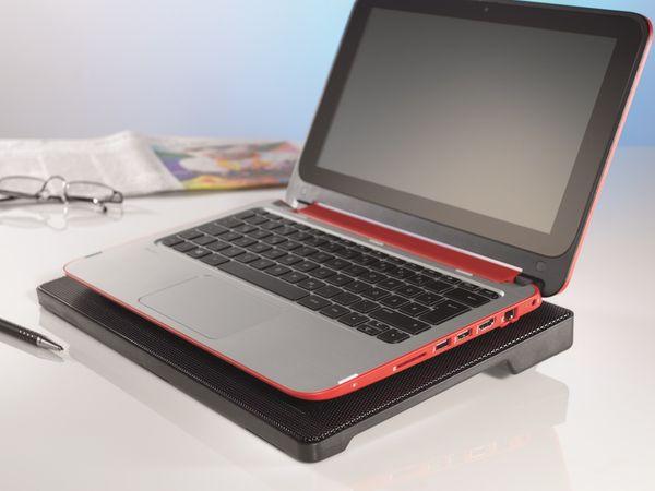 Laptop-Kühler HAMA SLIM 53067, schwarz - Produktbild 2