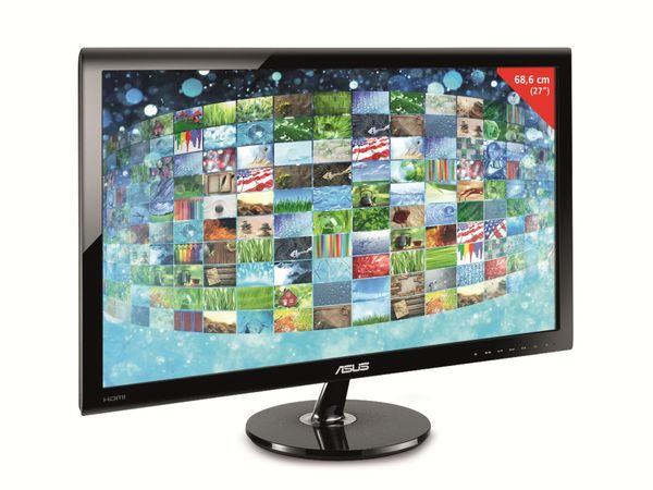 "68,6 cm (27"") TFT-Flachbildschirm ASUS VS278H - Produktbild 1"